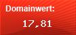 Domainbewertung - Domain elvisworld-minden.de bei domainbewertung.de.com