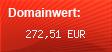 Domainbewertung - Domain www.artiqus.ch bei domainbewertung.de.com