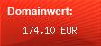 Domainbewertung - Domain www.eckes-parktreff.de bei domainbewertung.de.com